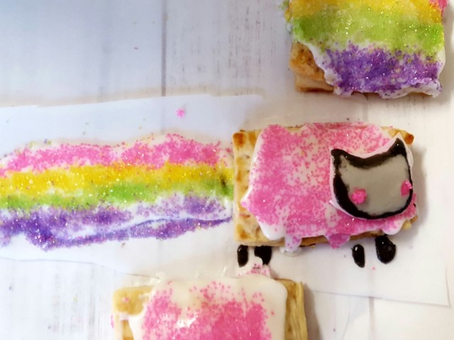 rainbow marmalade pop tart