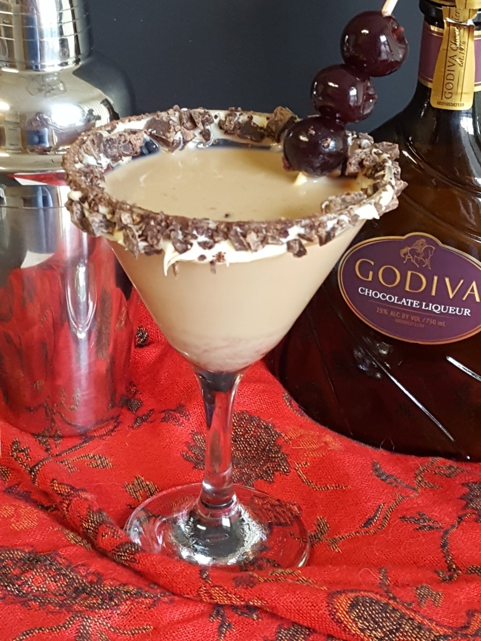 Almond Brownie Martini - Fix Me a Little Lunch