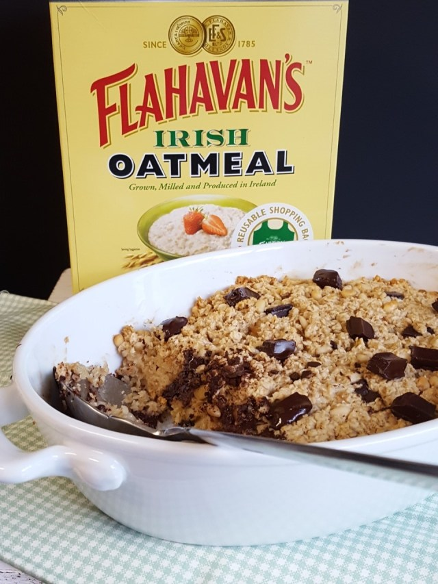 Santa Fe Chocolate Chip Baked Oatmeal