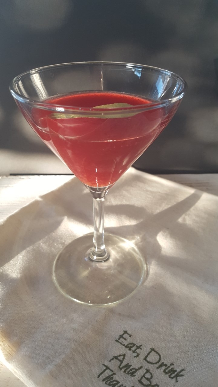 Bay Leaf Infused Cosmopolitan