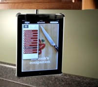 Ipad Holder That Mounts To Cabinets