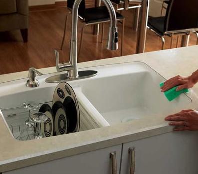 plastic laminate countertop undermount