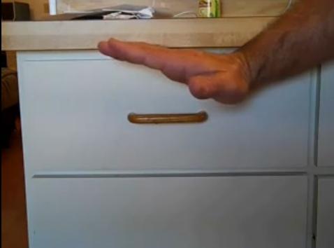 Fix my Cabinet  Fix Uneven Drawer Front
