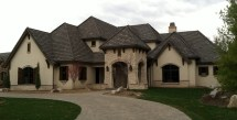 Old World Style Homes Exterior