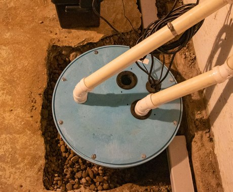 Should You Install an Interior Drain or A Sump Pump?