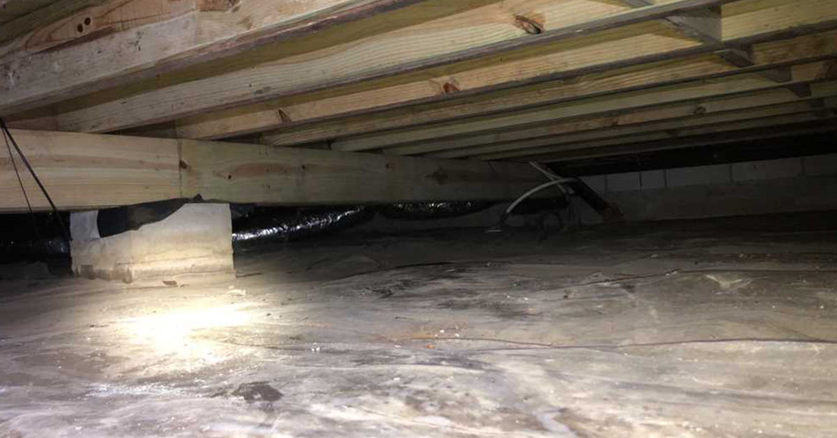 cold crawl space effects