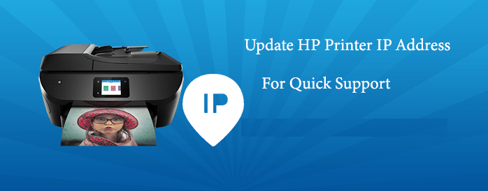 How To Update Hp Printer Ip Address Update Ip Address