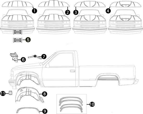 Ford Ranger Bed Repair Panels Ford Ranger Replacement