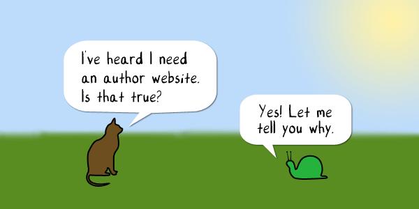 Author Website image