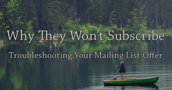 Troubleshooting Your Mailing List Offer