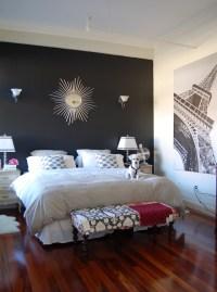 black paint for bedroom walls 2017 - Grasscloth Wallpaper