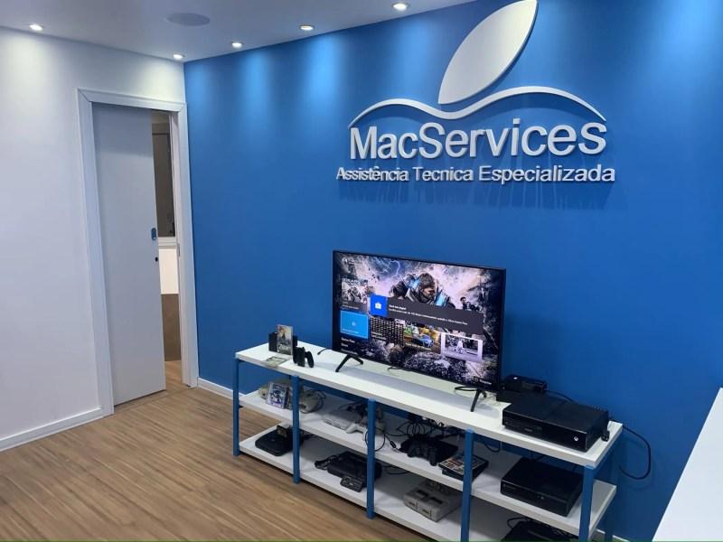 Recepção MacServices Barra