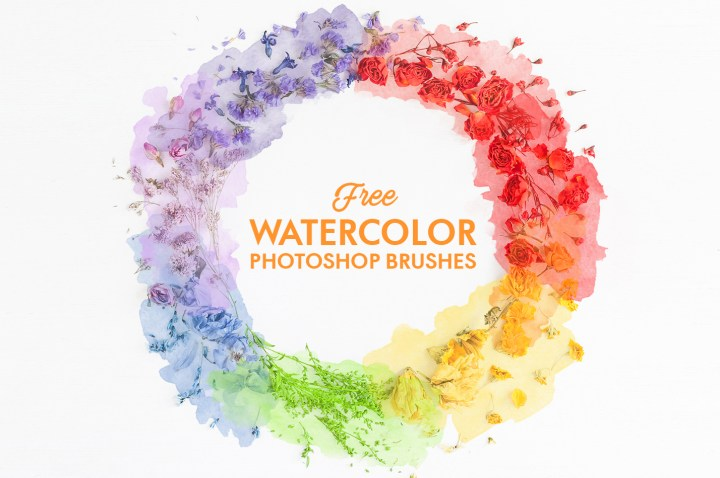 Photoshop Watercolor Brushes|Watercolor Photoshop Brush – Free Bundle