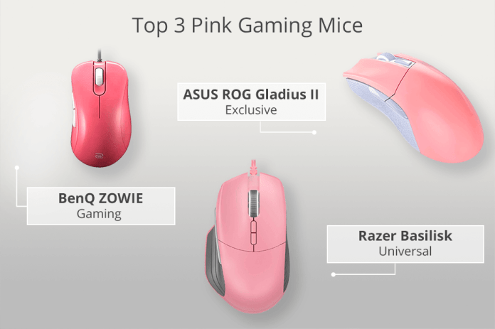 7 Best Pink Gaming Mice To Buy In 2021