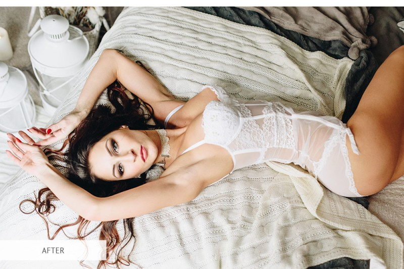 boudoir photography cropping