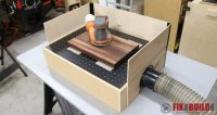 How to Build a DIY Downdraft Table | FixThisBuildThat