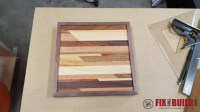 How to Make Wooden Wall Art   FixThisBuildThat
