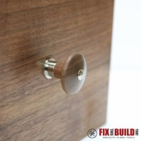 Turn Custom Wooden Cabinet Knobs on a Lathe | FixThisBuildThat