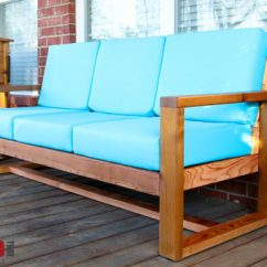 Do It Yourself Patio Chair Cushions Nursery Rocking Australia Toys R Us How To Build A Diy Modern Outdoor Sofa Fixthisbuildthat