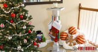 DIY Christmas Stocking Hanger   FixThisBuildThat