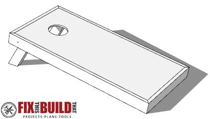How to Make DIY Cornhole Boards I FREE Easy Plans