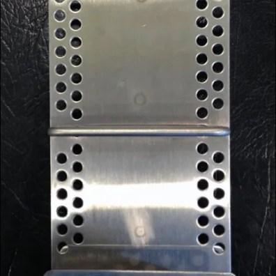 Metal Plate Literature Holder Front