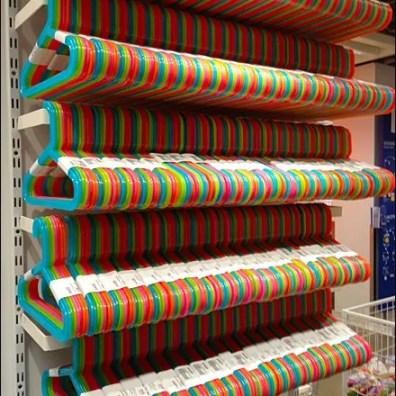 Clothes Hanger Circus Colors 1