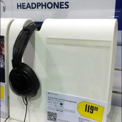 Wrap-Around Headphone Hanger 2