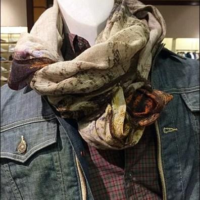 Men's Scarf Tie for Jean Jacket 2