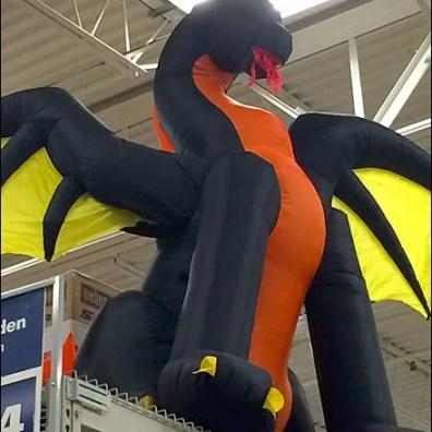 Halloween Inflkatable Dragon 3