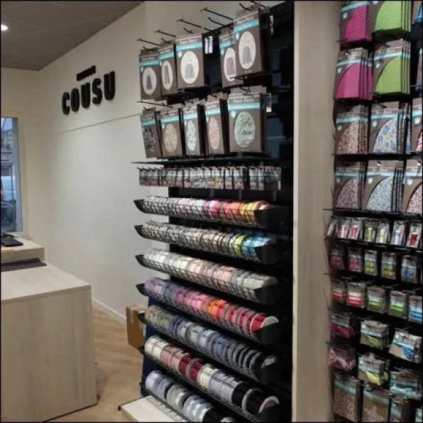 euro fixture ribbon merchandising courtesy of caem fixtures close up. Black Bedroom Furniture Sets. Home Design Ideas