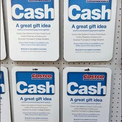 Costco Cash Gift Card 2