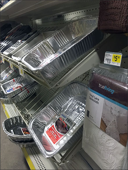 Disposable Cookware Declined