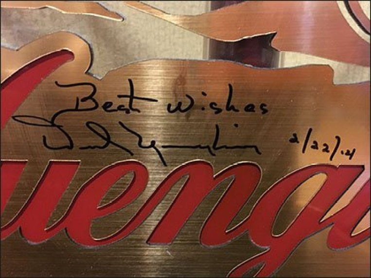 Yuengling Best Wishes 3