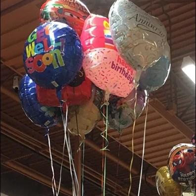 Wegmans Star Balloon Anchors 2