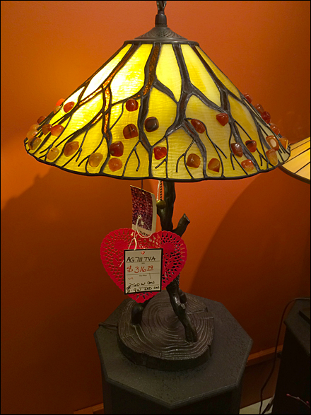 Valentines Day Lamps For Lovers Fixtures Close Up