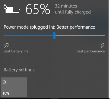 How to Save Battery on a Windows 10