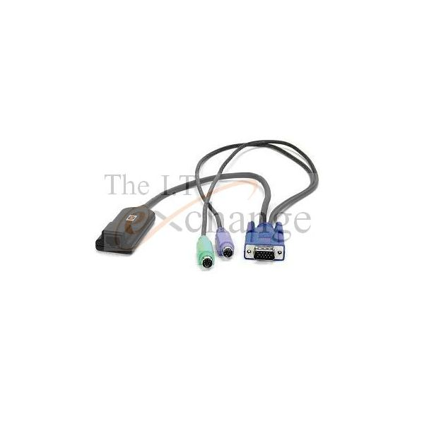 HP PS/2 ADAPTER ALLOWS CON TO CAT5 SWITCH KVM OR IP