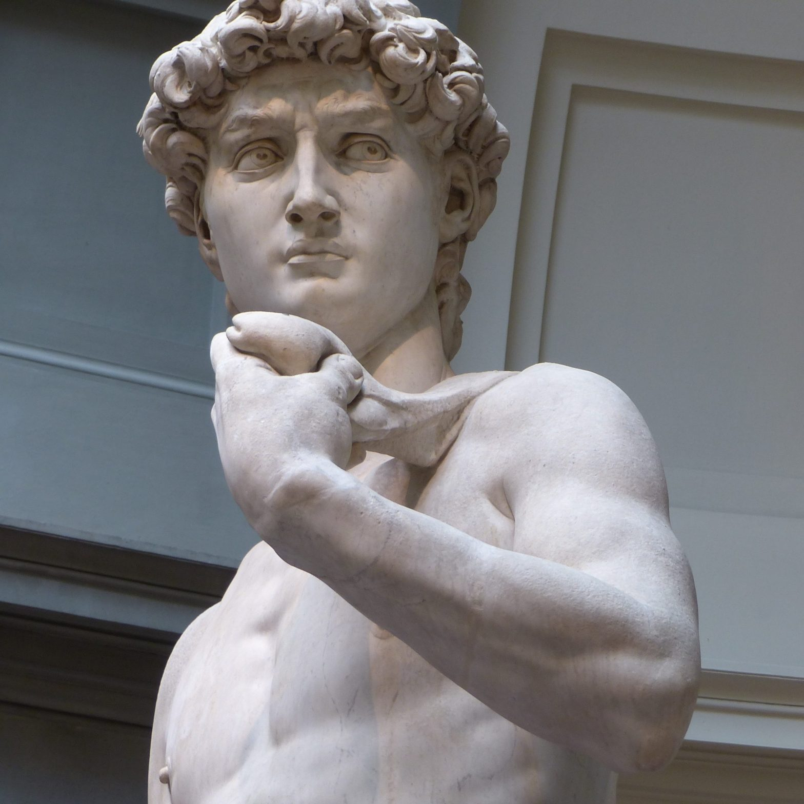Statue of David as a symbol of perfectionism