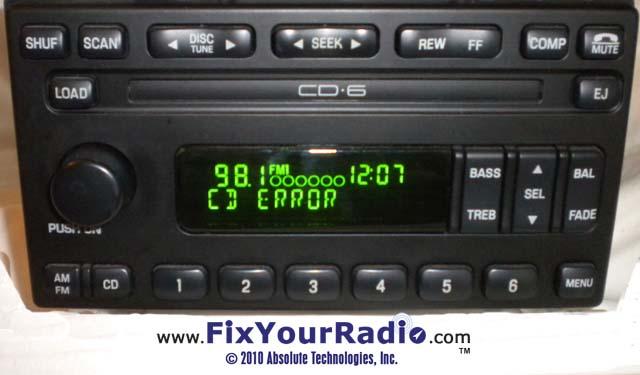2003 Ford Radio Cd Player