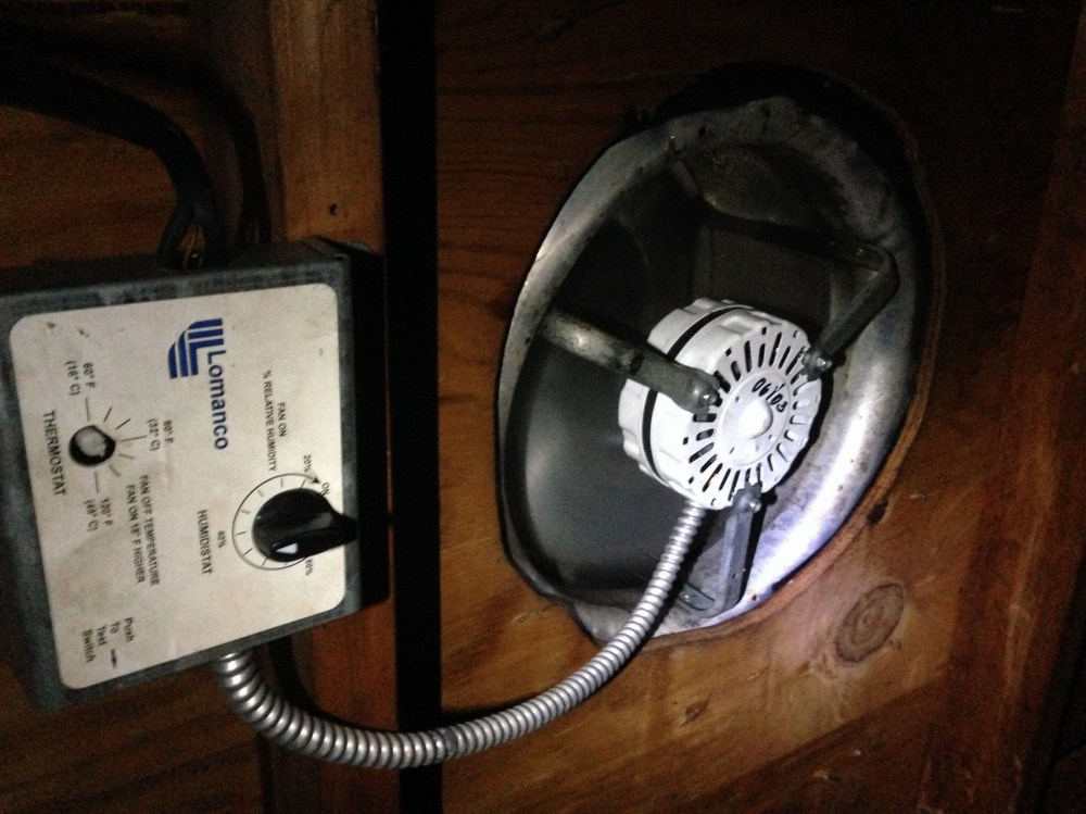 medium resolution of squeaking nosiy attic fan vent whirly bird motor replacement roof broken 1