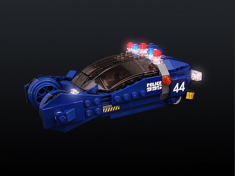 Custom Made Blade Runner Legos