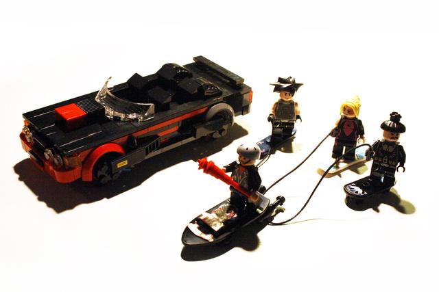 back to the future LEGO SET