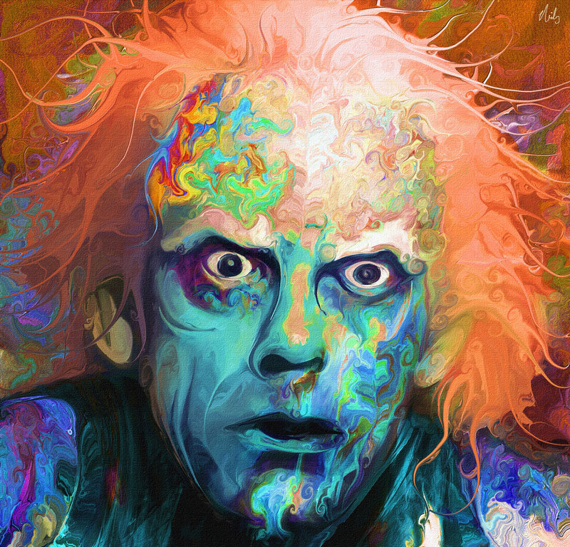 Rainbow Potraits of famous characters
