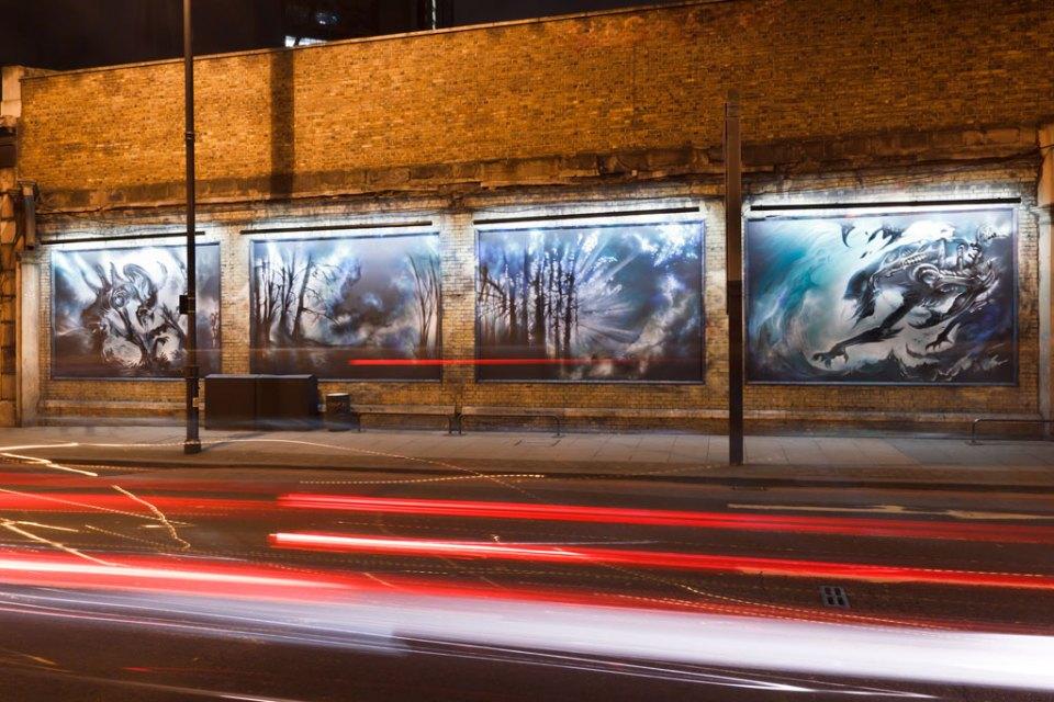 Alien Street Art in London