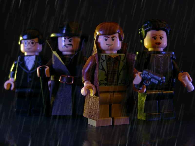 BLADE RUNNER Custom Made LEGO Greatness!