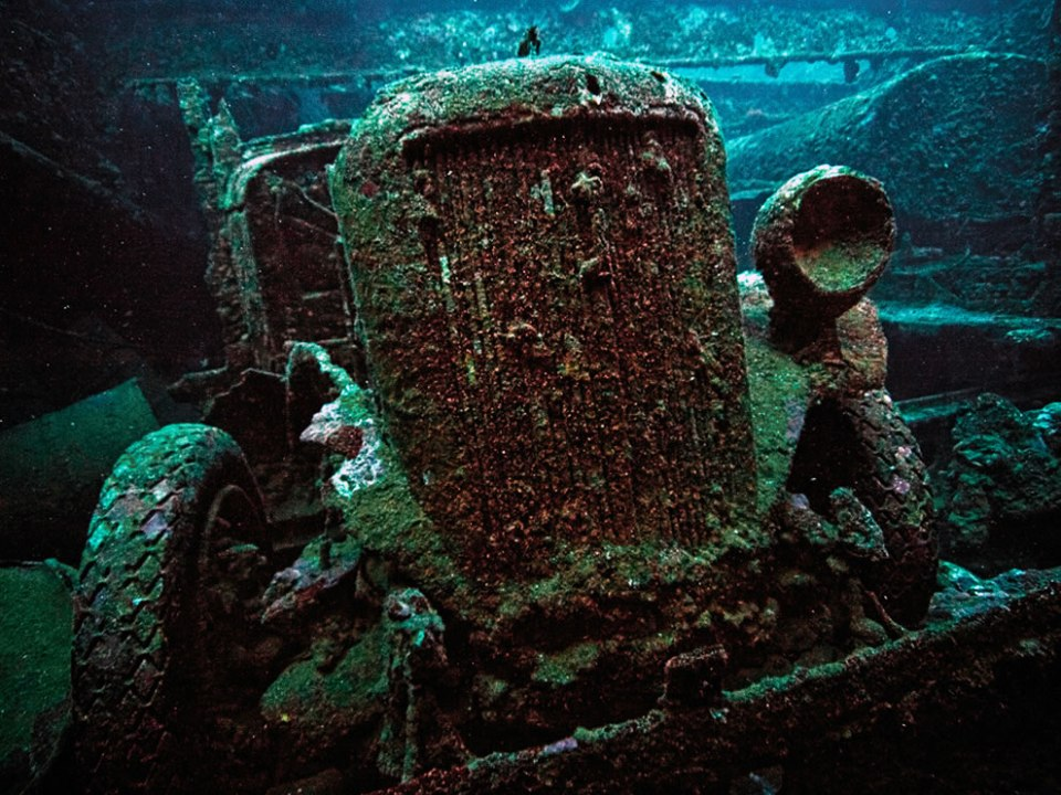 Mysterious Ghost Fleet of Truk Lagoon Wreck Diving