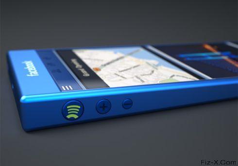 Blue Facebook Phone (2)