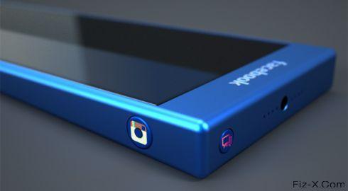 Blue Facebook Phone (4)
