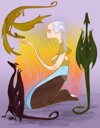 Daenerys Art (7)